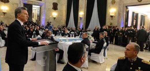Macri insistió en involucrar a las Fuerzas Armadas en la lucha contra el narcotráfico