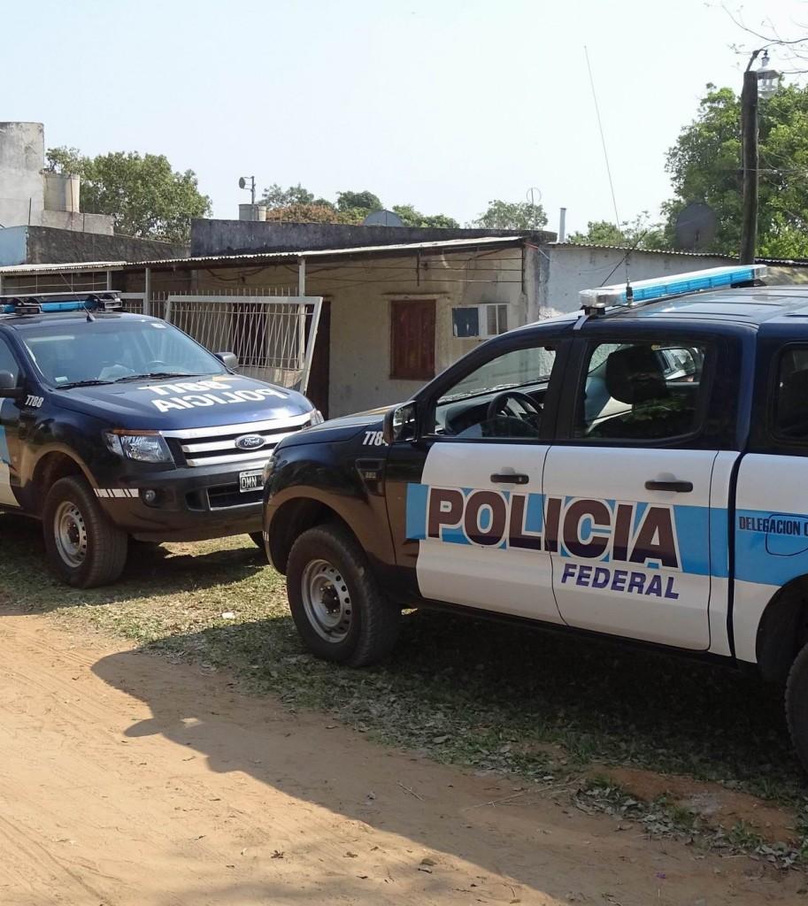 """Casa de un mecánico era usada como un """"aguantadero"""" narco en Corrientes"""