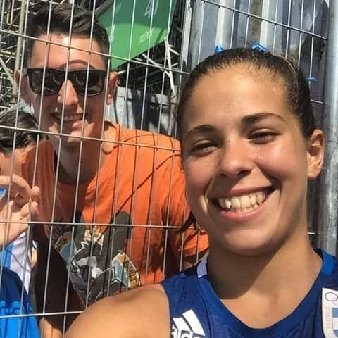 Selfie de misioneros en Río de Janeiro