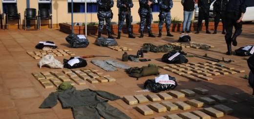 Siguen los operativos y desarticulan banda de narcos en Campo Grande