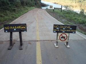 Alertan por riesgo ambiental que atraviesan los Saltos del Moconápor represa brasileña