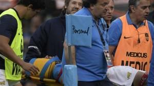 Los Pumas-Sudáfrica: El golpe que el árbitro dejó pasar y le provocó un traumatismo de cráneo a Juan Martín Hernández