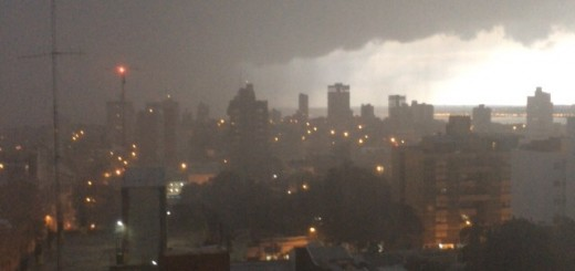Pronostican lluvia en toda la provincia cerca de la tarde y tormentas a partir de mañana