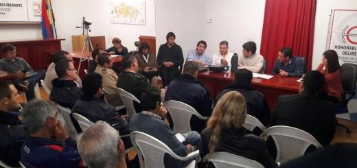 Eldorado: En reunión sobre inseguridad la policía solicitó más efectivos