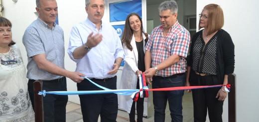 Se inauguró de manera oficial el sector de laboratorio del IPS en Oberá
