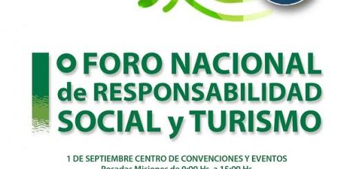 Invitan al Primer Foro Nacional de Responsabilidad Social y Turismo