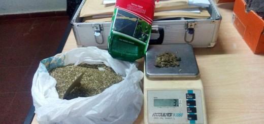 Querían ingresar marihuana para un preso en un paquete de yerba mate
