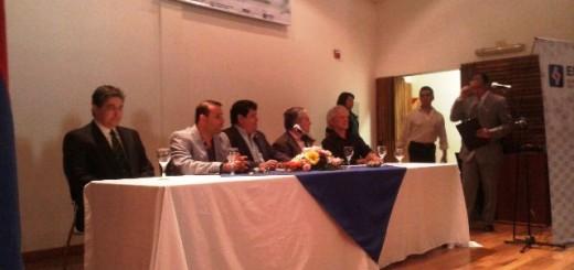 El vicegobernador Oscar Herrera Ahuad encabeza la apertura de las jornadas de uso racional de la energía en Posadas
