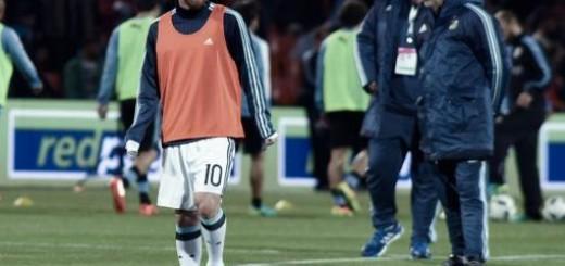 """Bauza: """"Messi no estará frente a Venezuela, tiene dolor y no podemos tomar riesgos"""""""