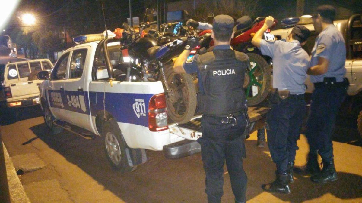 Operativo en Andresito: licencias vencidas y motos sin documentaciones, infracciones recurrentes en las rutas