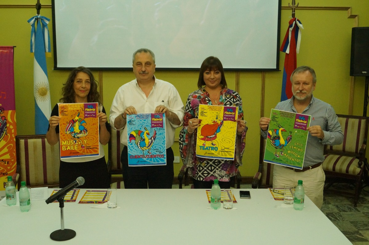 Passalacqua presentó la novena edición del Festival Tutú Marambá