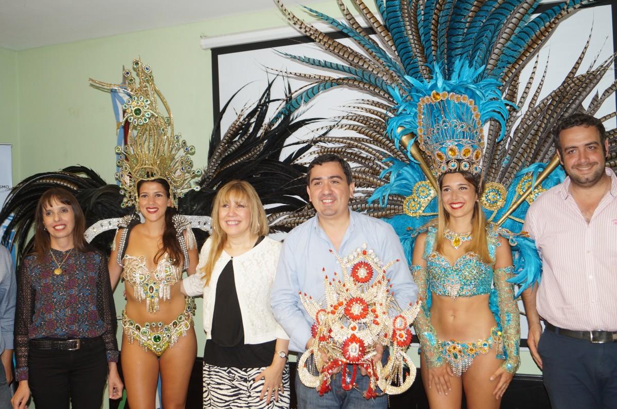 Presentaron el encuentro regional de Batucada y Pasistas a realizarse en San Javier