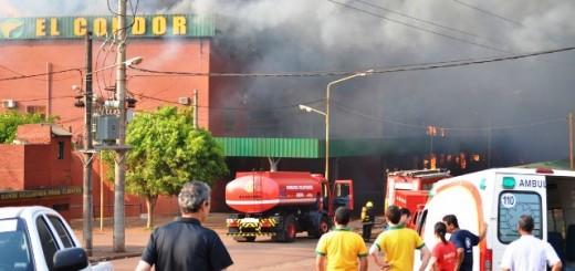 Mañana se cumple un año del incendio que destruyó el supermercado El Cóndor de Oberá