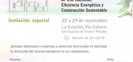 Mañana comienzan las jornadas de uso racional de la energía en Posadas