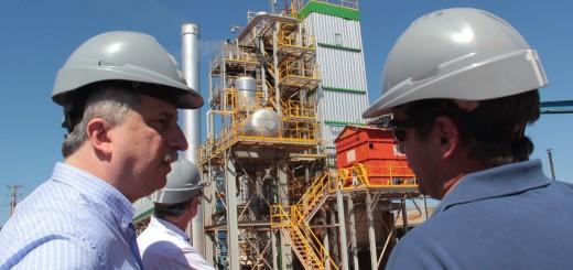 Passalacqua recorrió fábrica agroforestal que impulsa el desarrollo de biomasa