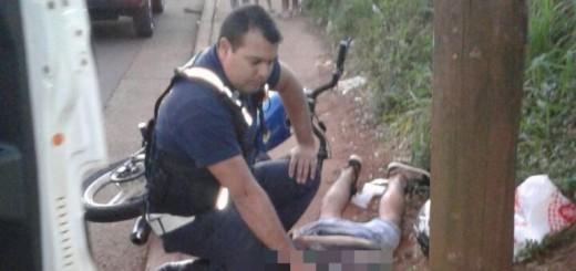 """Detuvieron a un """"motochorro"""" cuando intentaba robarle la cartera a una joven en Posadas"""