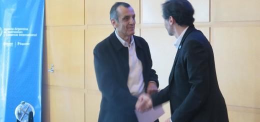 Se firmó el documento para la construcción del pabellón de Yerba Mate Argentina en Sial París 2016