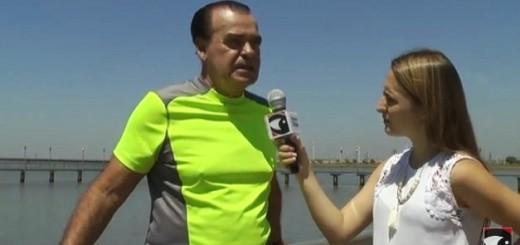 Se acerca del verano y la Costanera de Posadas se convierte en un ícono para la práctica deportiva
