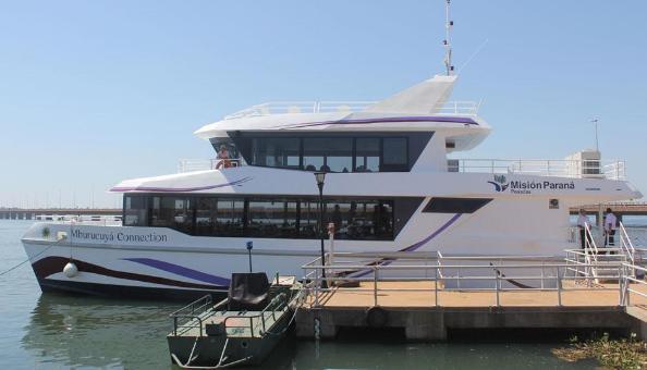 ¿Querés pasear en el catamarán? Misiones On Line sortea un paseo para dos personas