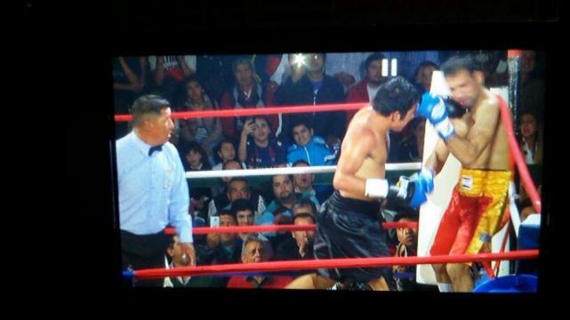 Video: boxeador misionero noqueó a su oponente  y un ayudante del perdedor lo agredió