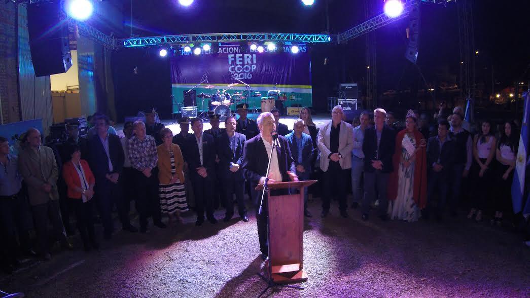 Passalacqua inauguró la Décima Edición de la Feria Internacional de Cooperativas en Leandro N. Alem