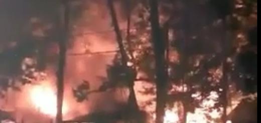 Se quedaron con lo puesto: en el barrio Las Dolores un incendio se devoró una vivienda