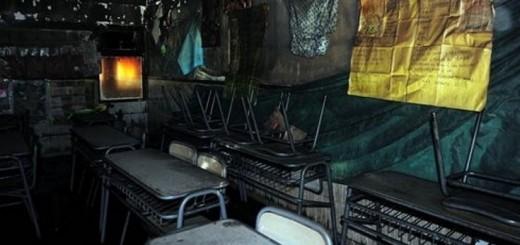 Vándalos destrozaron e incendiaron una escuela de Ituzaingó