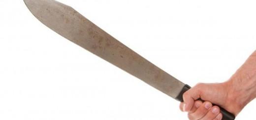 Un hombre de 60 años fue atacado a machetazos por su hijo
