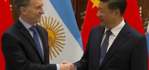 El presidente Macri y su par chino coincidieron en potenciar las relaciones comerciales y culturales