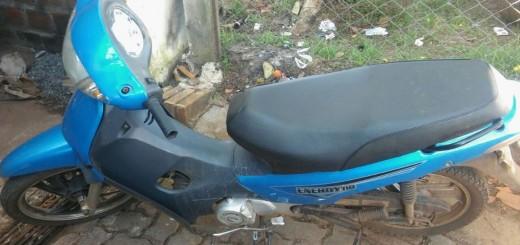 Recuperaron motocicleta que había sido robada hace un año en Posadas