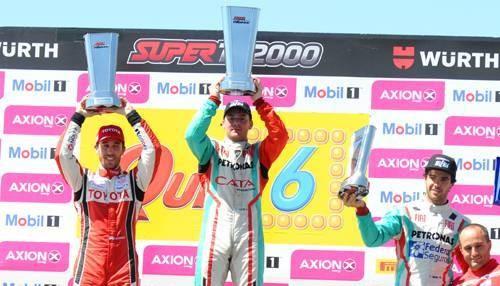 STC 2000: Llaver ganó en La Pampa y Morgenstern no pudo terminar la carrera