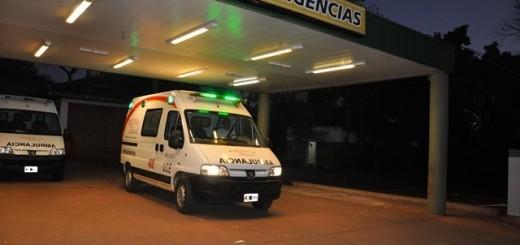 Alem: ladrones quisieron huir de la Policía entrando a la Guardia del Hospital pero igual fueron detenidos