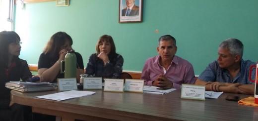Autoridades de la UDA presentes en la Junta de Clasificación y Disciplina