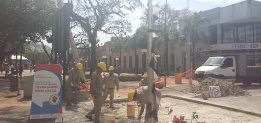 Cierran calles céntricas de Posadas por mejoras en la Calle Paseo