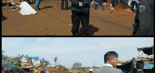 La Policía liberó la avenida Cocomarola de Posadas para el transito vehicular
