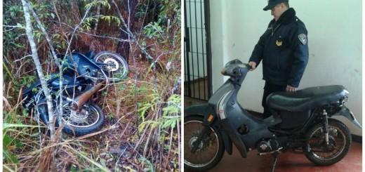 Recuperaron una motocicleta sustraída en Almafuerte