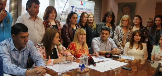 Se presentó el Congreso Pedagógico provincial de Nivel Inicial