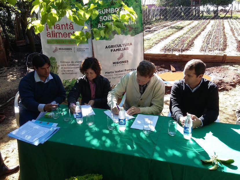 Lanzaron el programa «Huertas Sustentables»