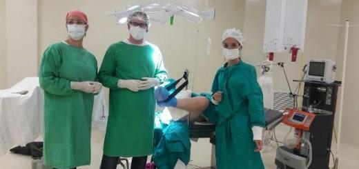 Exitosa cirugía ginecológica en el nuevo quirófano del Hospital de Aristóbulo del Valle