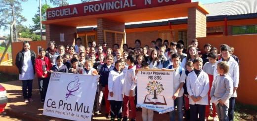 Alumnos de la Escuelas Nº 202 y Nº 896 de Eldorado trabajaron sobre violencia en los diferentes aspectos de la vida