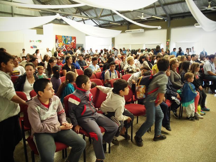 El Hogar de Día celebró su aniversario con un recorrido por las instalaciones y exposición de talleres