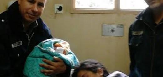 Joven madre dio a luz en un móvil policial en Oberá
