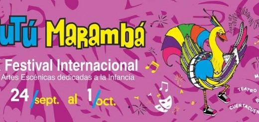 El sábado sera la apertura del festival Tutú Marambá