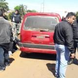 Atrapan a un arrebatador tras una persecución por la avenida Uruguay