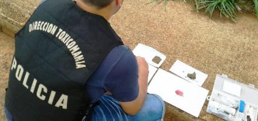 Dos vendedores de marihuana fueron detenidos en Posadas
