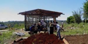 UNaM: Innovador proyecto para la mejora del hábitat y vivienda guaraní iniciaron en la comunidad Chafariz, en San Vicente