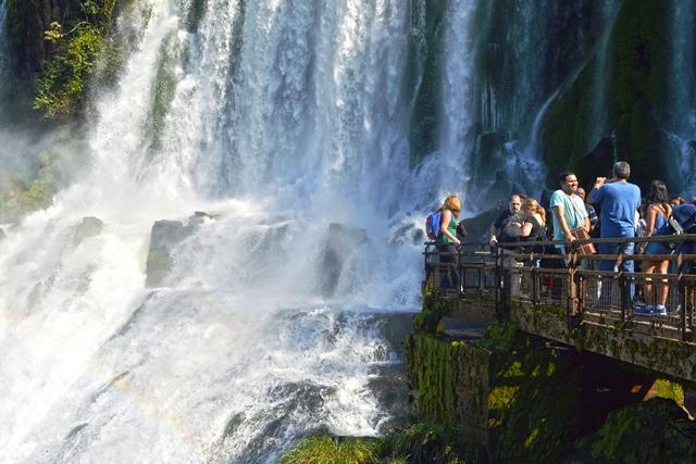 Cataratas cierra octubre con más visitas que el mismo mes del año pasado