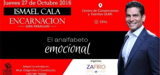 Ismael Cala dará charlas en Asunción y Encarnación