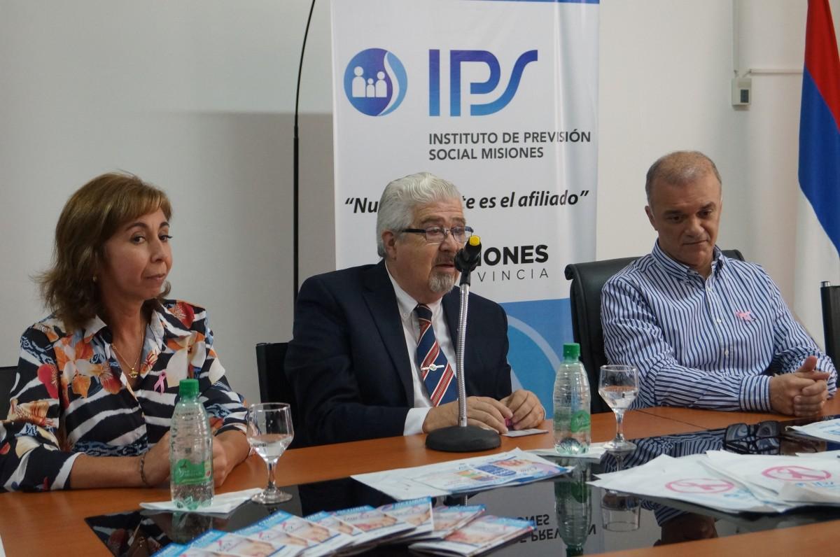 El IPS concientizará sobre la prevención del cáncer de mama esta tarde en la costanera