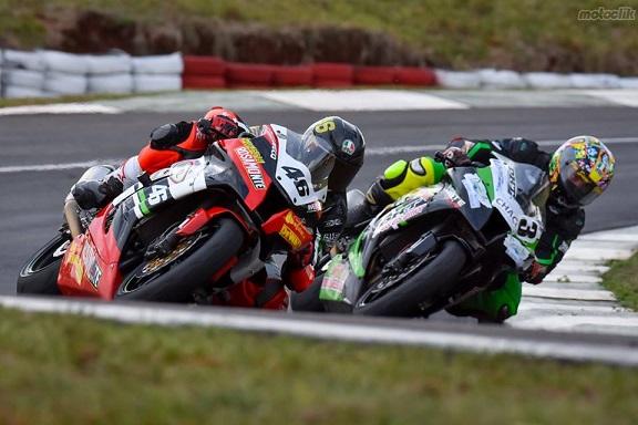 Motociclismo: Adrian Silveira y Cidade fueron terceros en clasificación